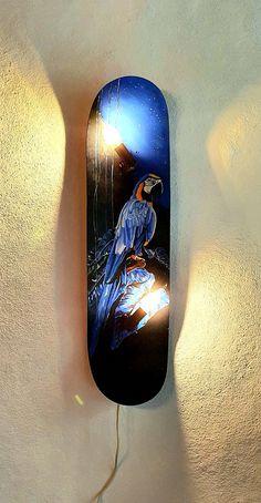 Skateboard Light, Painting, Art, Artworks, Art Background, Painting Art, Paintings, Kunst, Drawings