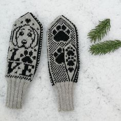 Dagens kjøpeoppskrift: Voffsenvottene | Strikkeoppskrift.com Fingerless Gloves Crochet Pattern, Mittens Pattern, Cat Pattern, Days Before Christmas, Drops Design, Dory, Ravelry, Giraffe, Crochet Patterns