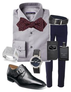 """""""For Dad!"""" by ivelisser on Polyvore featuring Trussardi, Geoffrey Beene, Drakes London, Florsheim, Gucci, Jimmy Choo, Prada, men's fashion and menswear"""