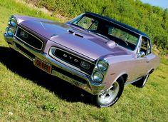 '66 GTO in Lilac
