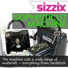 sizzix sophisticut die cutting machine