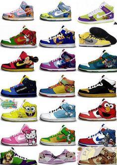 04efe469fd Nike sneakers, para todos los gustos Sneaker Games, Sneaker Art, Vintage  Nike,