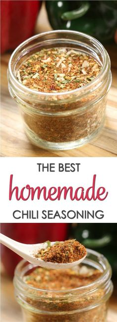 This homemade Chili Seasoning Mix recipe has just the right amount of heat and sweetness. via @itsakeeperblog