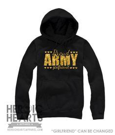 Proud Army [Girlfriend] Shirt - Heroic Hearts Apparel