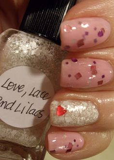 Lynnderella's Matter of the Heart and Love, Lace and Lilacs