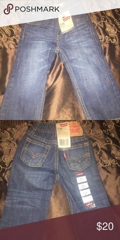 Infant Levi jeans NWT 💙💙 Brand new Levi's with tags. Dark denim Levi's Bottoms Jeans