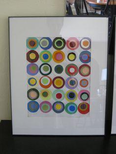 A close up of a composition, paint chips Paint Sample Art, Paint Swatch Art, Paint Swatches, Paint Samples, Diy Artwork, Diy Wall Art, Paint Chip Wall, Paint Charts, Chip Art