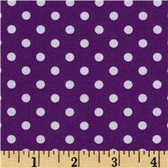 Michael Miller Dumb Dot Lilac