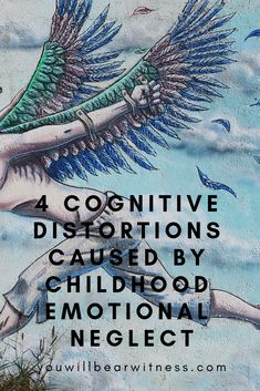 4 Cognitive Distortions Caused By Childhood Emotional Neglect - Health Cognitive Distortions, Cognitive Behavior, Discipline, Coconut Health Benefits, Parenting Fail, Self Help, Just In Case, Mental Health, Health Tips