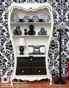 I like the idea. The whole thing together is a little loud for me. The damask reminds me of @Leilani Daines Volkman
