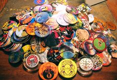 I would have KILLED you at pogs... stole aaall your slammers lol