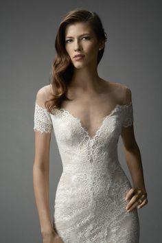 Watters Mila gown. #watters #weddingdress #spring2015