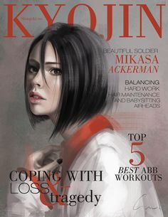 SnK Magazine: Mikasa by putemphasis.deviantart.com on @DeviantArt