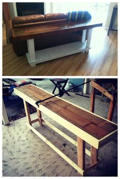 #PalletTable, #RecycledPallet, #Sofa