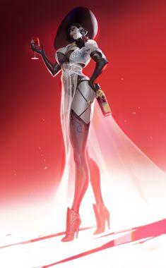 Tyrant Resident Evil, Resident Evil Girl, Vampire Girls, Vampire Art, Female Monster, Monster Girl, Female Character Design, Character Art, Fantasy Characters