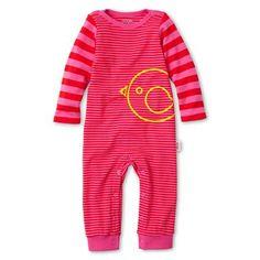 giggleBABY™ Striped Coveralls - Girls newborn-24m - jcpenney