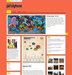 Persephone Fashion / design theme for WordPress Wordpress Theme, Blog, Fashion Design, Blogging