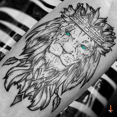 Tattoo lion king art jungles 24 Ideas for 2019 Wolf Tattoos, Animal Tattoos, Black Tattoos, Tatoos, 4 Tattoo, Body Art Tattoos, Sleeve Tattoos, Lion Tattoo Design, Tattoo Designs