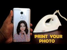 DIY SmartPhone Cooler Tutorial - How to Print Your Favorite Photo on Phone Cover at Home Using Electric Iron - DIY Phone Cover Print Kpop Phone Cases, Phone Covers, Phone Cover Diy, Diy Coque, Diy Phone Case Design, Photo Phone Case, Design Youtube, Diy Foto, Diy Laptop