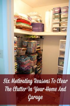 Clear The Clutter In Your Home And Garage