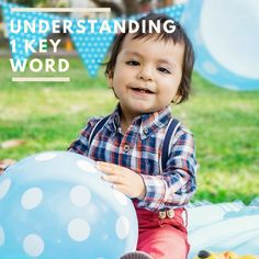We have written before about key words or information carrying words. You can read that post here. We talk aboutkey words when we describe a younger child's understanding of words. When we talk, ask questions and give instructions, there are usually clues around us that help children understand. So even if they aren't sure of …