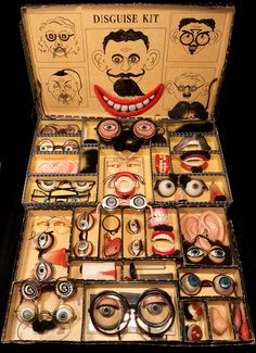Antique disguise kit