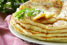 Frybread and Honey Butter – Food Recipes