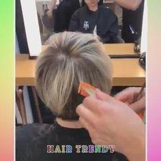 Bob Haircut For Fine Hair, Haircuts For Fine Hair, Short Bob Haircuts, Cute Hairstyles For Short Hair, Pretty Hairstyles, Curly Hair Styles, Lob Haircut, Modern Haircuts, Short Hair With Layers