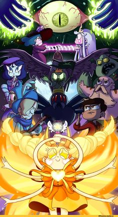 Star vs the forces of evil,Star vs. the Forces of Evil,фэндомы,findo,artist,Eclipsa Butterfly,svtfoe characters,Moon Butterfly,Star Butterfly,Marco Diaz,svtfoe characters,Ludo,Buff Frog,Ruberiot,River Johansen-Butterfly,svtfoe characters,Glossaryck,Mewberty,СПОЙЛЕР