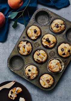 Muffins to customize (without eggs) Paleo Recipes, Sweet Recipes, Vegan Desserts, Dessert Recipes, Brunch, Healthy Muffins, Food Truck, Finger Foods, Vegan Vegetarian