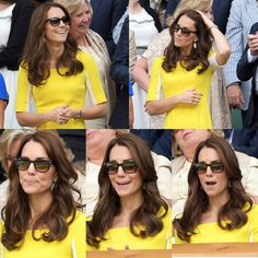 This is why I love Wimbledon  #KateMiddleton attends day ten of the Wimbledon Tennis Championships at Wimbledon on June 27, 2016 in London