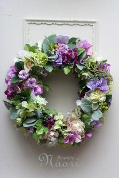 Never met a ______ I didn't like. Wreath Crafts, Diy Wreath, Wreath Ideas, Summer Door Wreaths, Christmas Wreaths, Flower Head Wreaths, Corona Floral, Artificial Flowers, Flower Decorations