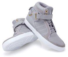 adidas Originals Highrise Sneakers: Grey