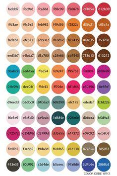 [굿노트/컬러칩] 굿노트 펜색상 이렇게 사용해 보세요♡ : 네이버 블로그 Pantone Colour Palettes, Pantone Color, Hex Color Palette, Color Combos, Color Schemes, Color Palette Challenge, Photoshop, Color Psychology, Color Balance