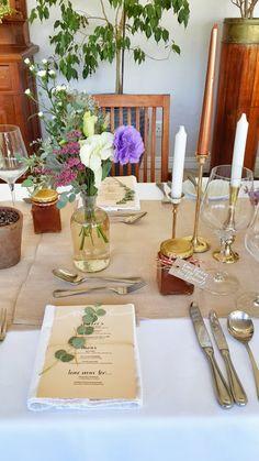 Glass jar with jam/relish = guest favours Diy Wedding Decorations, Handmade Decorations, Wedding Themes, Wedding Blog, Wedding Events, Table Decorations, Gold Wedding, Elegant Wedding, South African Weddings