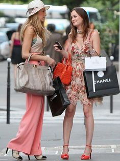 Blake Lively And Leighton Meester Film The Final Episode of Gossip Girl EVER! Here Are Grazia's Fave Fashion Moments... | Grazia Fashion