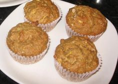 Morning Glory Muffins...for the Gym Obsessed