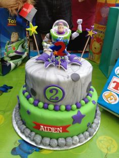 Downtown Cupcakes Buzz Lightyear Cake