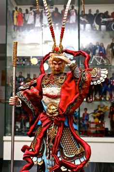 Chinese Armor, Monkey King! Inflames Toys X Newsoul Toys - 1/6 The Monkey King Action Figure #monkeyking #journeytothewest #journey #saiyuki #最遊記 #西遊記 #chinese #chinesearmor #armor #designs #concept #art #dynasty #warriors #kungfu #samurai #sword #war