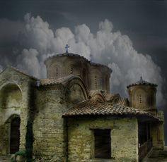 Veljusa Monastery in Strumica, Macedonia