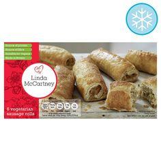 Linda Mccartney 6 Vegetarian Sausage Rolls 342G - Groceries - Tesco Groceries
