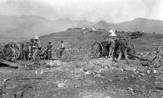 01/10/1921 EFE Data .- GUERRA DE AFRICA: OCUPACIÓN DE SEBT, octubre de 1921. Posición de monte Arbós desde donde se inició el avance