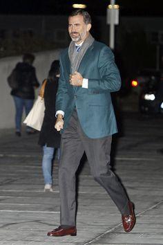 El Príncipe Felipe visita al Rey, que ha salido de la UCI y ya se encuentra en planta