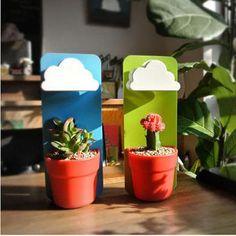Rain Cloud Plant Pots