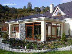 Pergola, Cabin, House Styles, Houses, Garden, Outdoor, Home Decor, Verandas, Windows