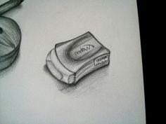 30 días dibujando: 28/30.  #Dibujo #draw #drawing #pencil #lapiz #borrador #eraser