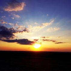 Pôr do sol em Maringá -Pr
