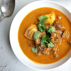 Set the slow cooker early with this mouthwatering Massaman Curry by vickys for a very cruisy evening.