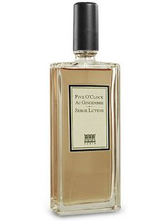 Five O'Clock Au Gingembre  Eau de Parfum by  Serge Lutens  Smelled this today and really liked it, available at Louis Boston