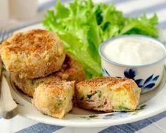 Papitas de thon au quinoa minceur : http://www.fourchette-et-bikini.fr/recettes/recettes-minceur/papitas-de-thon-au-quinoa-minceur.html